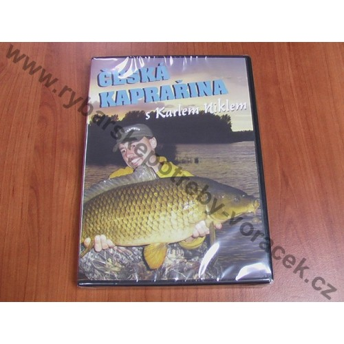 DVD ČESKÁ KAPRAŘINA s Karlem Niklem