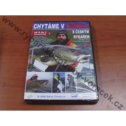 DVD Chytáme v Norsku s Českým rybářem