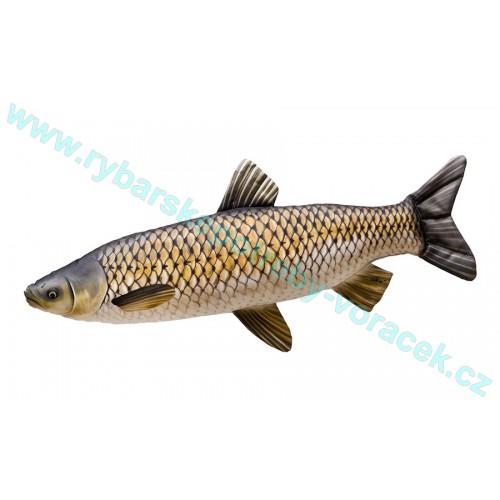 Polštář Amur 105cm plyšová ryba