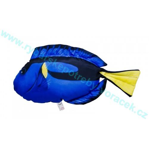 Polštář Bodlok pestrý 56cm plyšová ryba