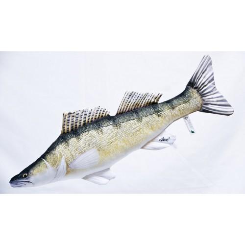 Polštář Candát 77cm plyšová ryba