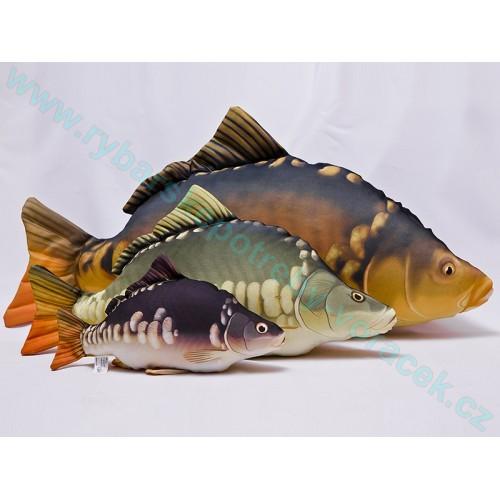 Polštář Kapr velký 90cm plyšová ryba