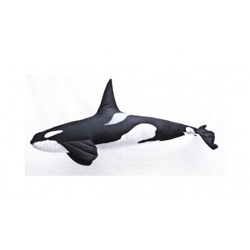 Polštář Kosatka dravá 51cm plyšová ryba