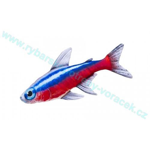 Polštář Neonka obecná 53cm plyšová ryba