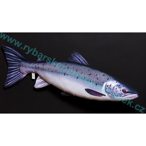 Polštář Losos 90cm plyšová ryba