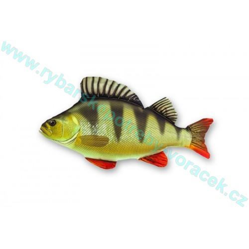 Polštář Okoun 35cm mini plyšová ryba