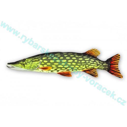 Polštář Štika 80cm plyšová ryba