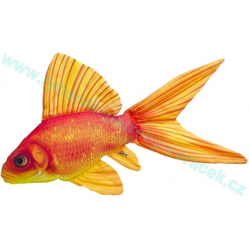 Polštář Zlatá ryba 52cm