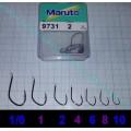 Háček Maruto 9731 lopatka černý 10 kusů