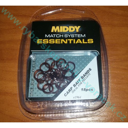 Kroužky na pelety MIDDY