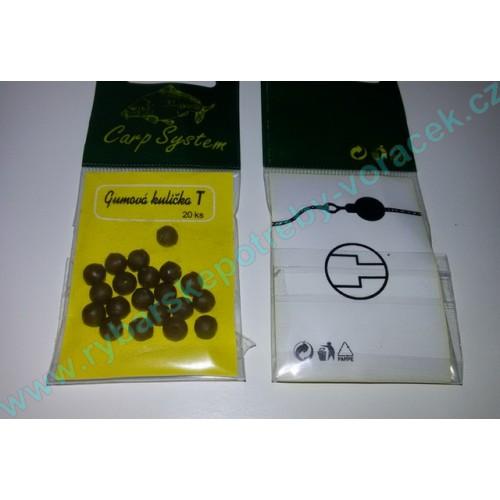 Gumová kulička T 20 ks Camo