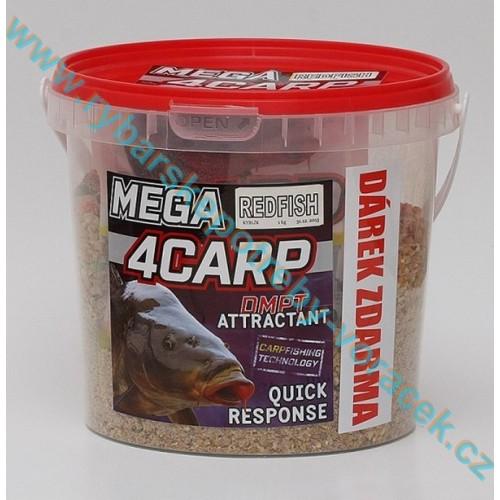 Krmítková směs kyblík 1kg 4carp