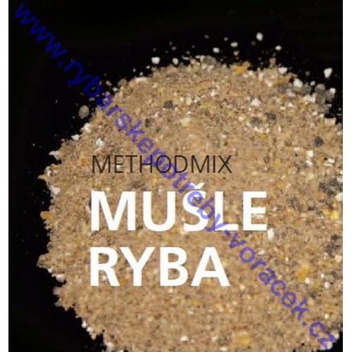 Methodmix mušle - ryba 1kg