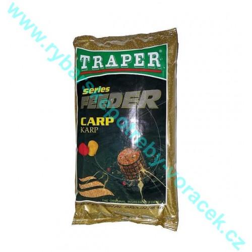 Krmítková směs Traper Feeder Series Kapr 1kg