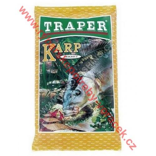 TRAPER Secret Kapr 1kg Žlutý