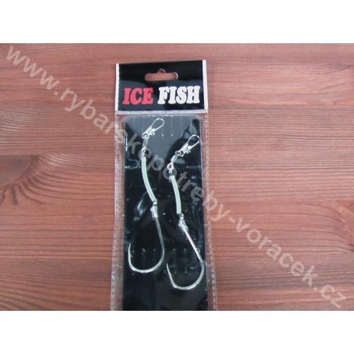 Přívěsový háček pro mořský rybolov - 2 kusy