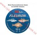 ICE fish Fleuron 100m fluorocarbonový vlasec na mořské návazce