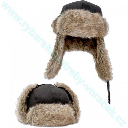 Zateplená čepice ušanka Zebco