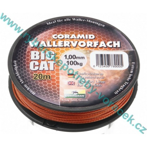 Šňůra na sumce BIG CAT Cormoran 1,00 mm 100 kg