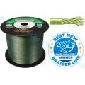 Spiderwire Smooth 8 splétaná šňůra zelená - Berkley NOVINKA