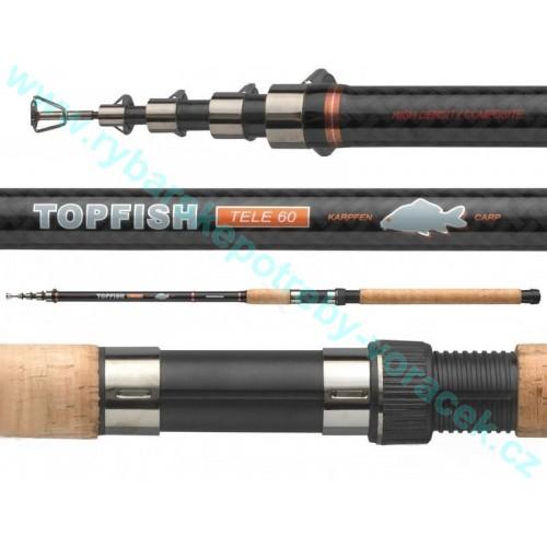 Rybářský prut CORMORAN Topfish Tele 20-60g