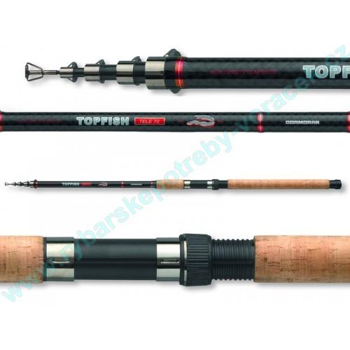 Rybářský prut CORMORAN Topfish Tele 40-70g