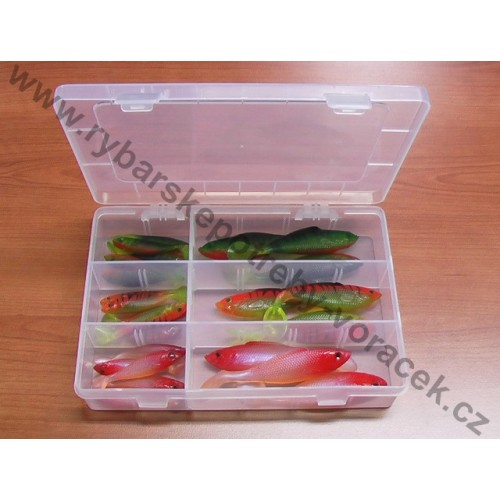 Krabička plus 24 x vláčecí ryba