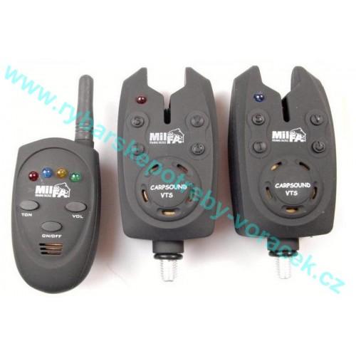 MILFA CARPSOUNDER VTS 2 plus 1 bezdrátový příposlech