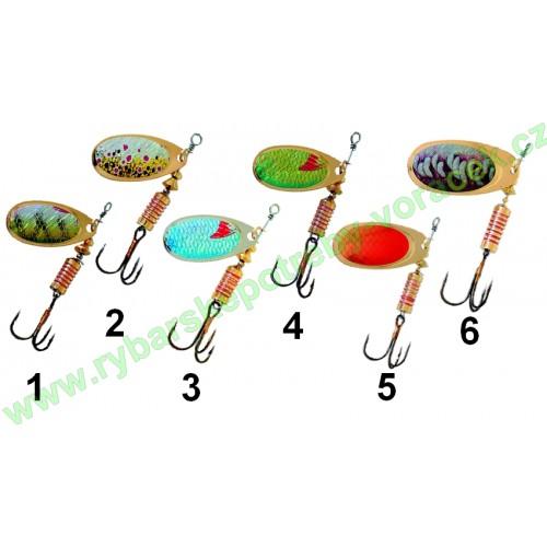 Třpytka rotačka 6g ICEfish UNIM