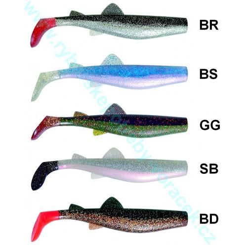 Vláčecí ryba Attack 12cm ICE fish