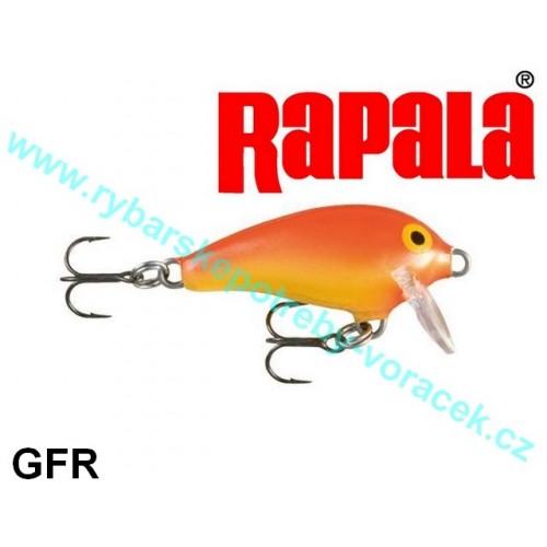 Rapala Mini Fat Rap 3cm MFR - 3 GFR