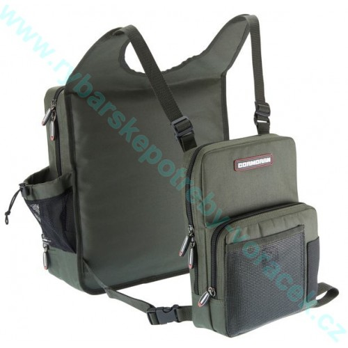TWIN taška Cormoran na záda a prsa