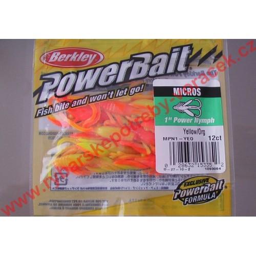 Berkley Nymfa yellow orange